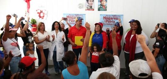 Gobierno Bolivariano inició en Carabobo  Gran Misión Hogares de la Patria