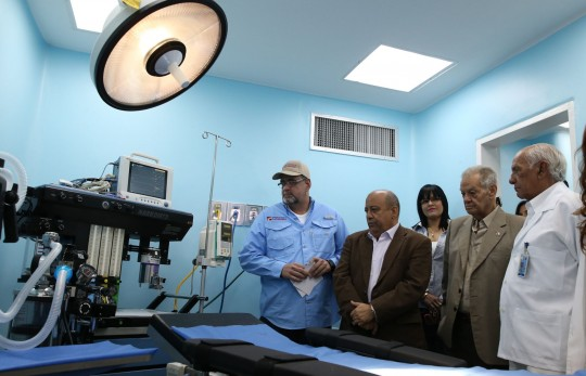Reinauguramos unidad maxilofacial con nuevo quirófano en la CHET