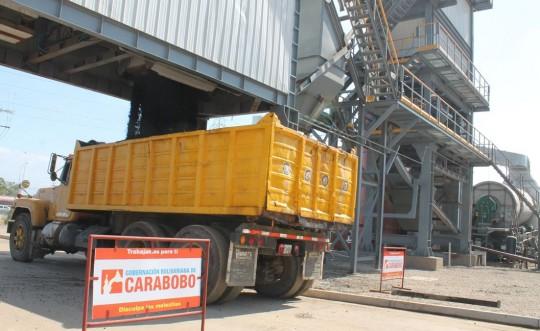 Presidente Maduro inauguró en Carabobo planta de asfalto más moderna del país