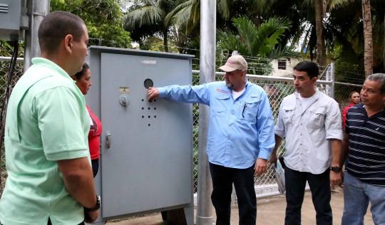 Reactivamos en Puerto Cabello dos pozos de agua con 80 litros por segundo