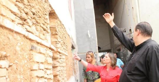 Primera combatiente verificó avances  en restauración de la Catedral de Valencia