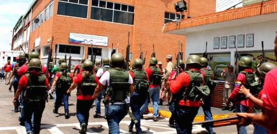 Carabobo cumplió con ejercicio militar defensivo