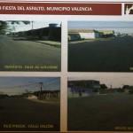 Gobernación asfaltó 90 calles en 14 sectores del sur de Valencia