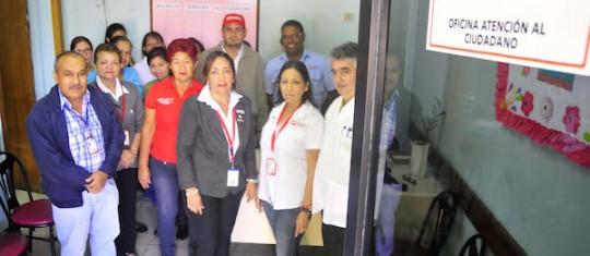 Insalud pone en marcha en centros asistenciales once Oficinas de Atención al Ciudadano