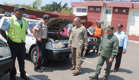 Gobierno de Carabobo pasó revista a unidades del Plan de Seguridad Vial
