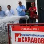 Pusimos  en marcha para Puerto Cabello otros dos pozos de agua rehabilitados
