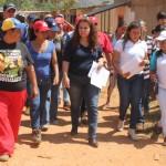 Ministra Valera supervisó en Miguel Peña censo de Hogares de la Patria