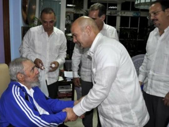Reflexiones de Fidel: Cinco horas con Los Cinco