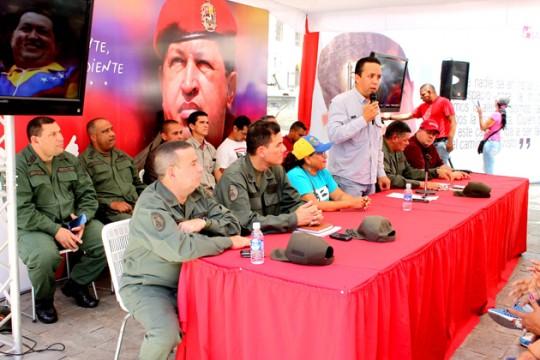 Círculos de Lucha Popular se incorporan a las Áreas de Defensa Integral de Carabobo