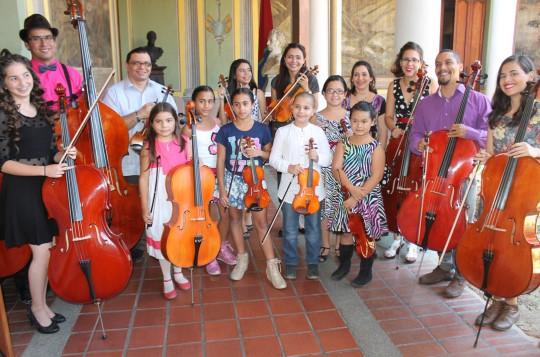 Gobierno Regional ofreció concierto  de música de Cámara en Museo Casa Páez