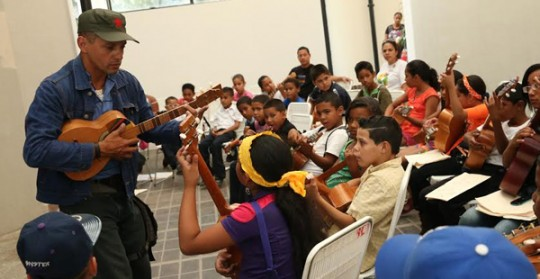 Niños y Niñas de Bases de Misiones ofrecerán este jueves concierto Cuatros por la Paz