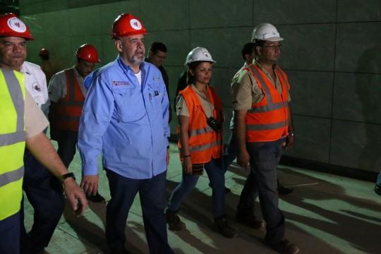 Casi listas para iniciar operaciones dos nuevas estaciones del Metro de Valencia