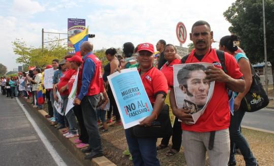 Militantes del Psuv- Carabobo rechazan  Agresiones de Estados Unidos contra Venezue