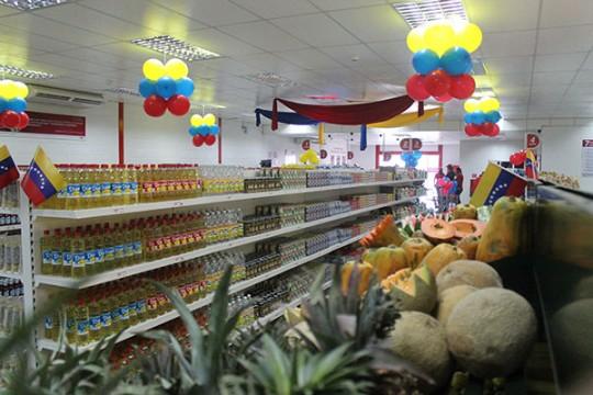 Presidente Maduro inauguró  Dos Abastos PDVAL en sur de Valencia