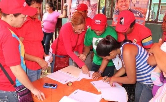 UBCHs en Carabobo cumplieron con postulaciones para candidatos a primarias de la AN