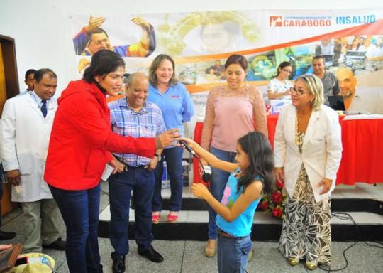 Infantes carabobeñas recuperan audición gracias a gestión de Ameliach y Pdvsa