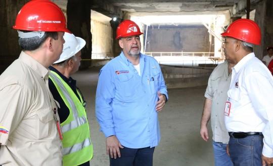 Constatamos 80% de avance de dos nuevas estaciones del Metro de Valencia