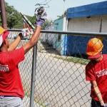 Desplegado Barrio Nuevo Barrio Tricolor en Gran Bulevar La Isabela y César Girón