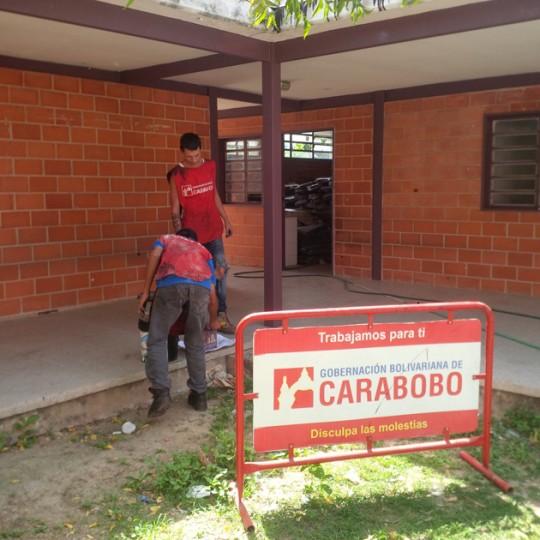 Más de mil 200 alumnos beneficiados tras rehabilitación de U.E Reina Guadalupe Rosa