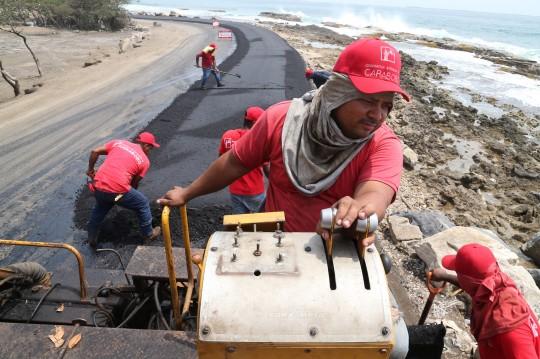 Gobierno de Carabobo puso en marcha asfaltado en vía Gañango-Patanemo
