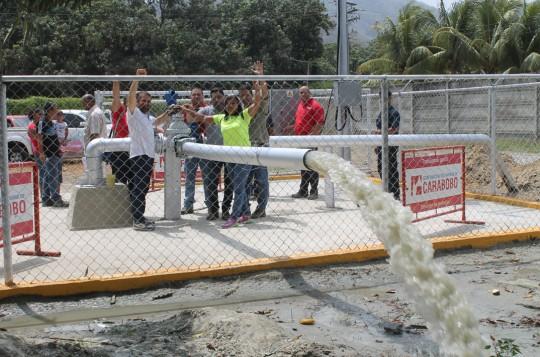 Gobernación activa séptimo pozo para suministrar más agua a Puerto Cabello