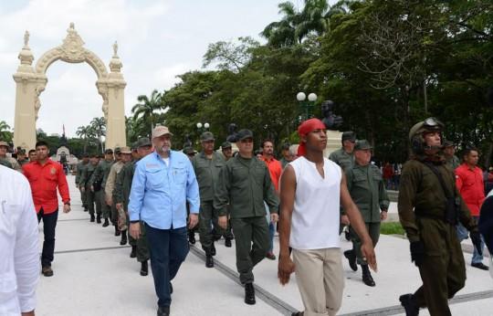 """""""La Fuerza Armada tiene un compromiso con la paz y la revolución"""""""