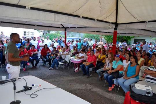 Psuv realizó asamblea con precandidatos y militancia del Circuito 2 de Carabobo