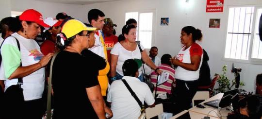 Más de mil personas del sector Palma Sola recibieron atención en Base de Misiones