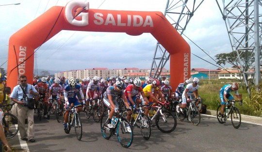 Ciudad Chávez acogió 4ta etapa de la Vuelta Ciclística a Venezuela