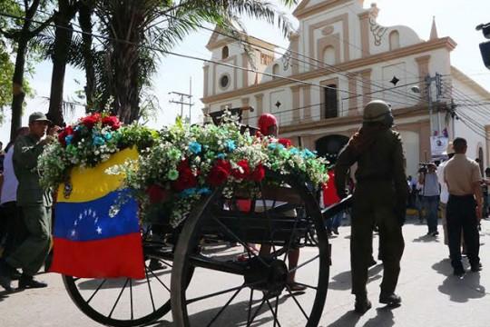 Municipio Libertador rindió homenaje a Pedro Camejo