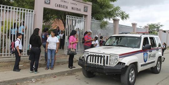 Con plan piloto de Seguridad Escolar Gobernación resguardará unas 700 escuelas