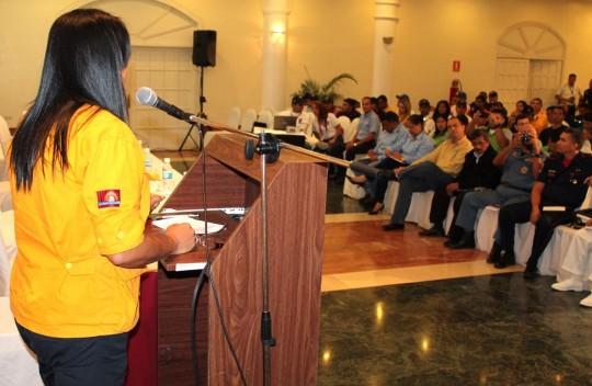 Funcionarios de Protección Civil Carabobo mejoran capacitación en Gestión de Riesgos