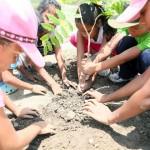 Con Jornada de Arborización conmemoraron natalicio de Bolívar y Chávez en Morón