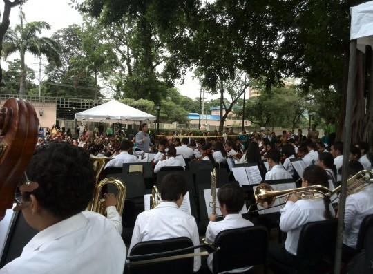 Niños del Sistema Nacional de Orquestas ofrecieron concierto en Museo La Isabela