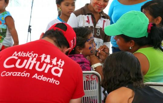 Gobernación realizó fiesta cultural para el buen vivir en Ciudad Chávez