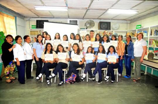 Insalud certificó a mil 479 alumnos como Agentes de Salud Escolar