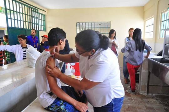 Carabobo cumplió en 91% meta para primer semestre en programa de inmunizaciones