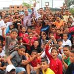 3 mil 500 niños y jóvenes honraron con deporte a Bolívar y Chávez