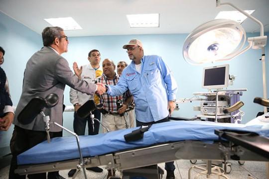 Inauguramos nuevo servicio de ORL y Urología