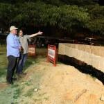 Inspeccionamos construcción de Parada Integral en Santa Rosa