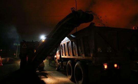 Gobernación recupera distribuidor El Palito con más 2 mil toneladas de asfalto