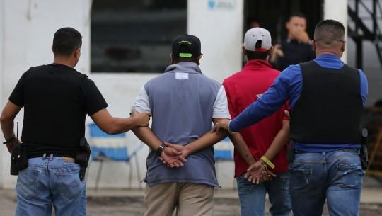 OLPdesarticuló dos bandas y detuvo catorce delincuentes en Carlos Arvelo