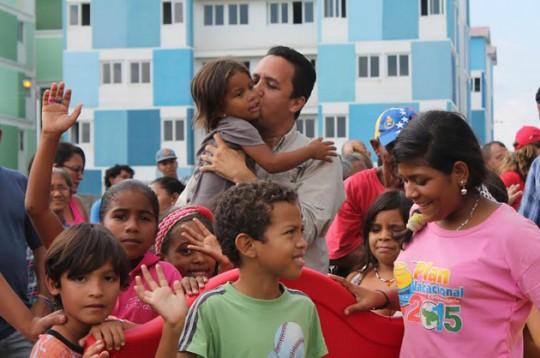 Gobierno de Carabobo benefició a Ciudad Plaza con entrega de Parque Biosaludable