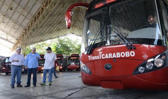 Pusimos en marcha nueva ruta TransCarabobo en Los Guayos