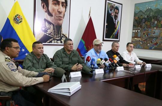 Cinco delincuentes fallecieron al enfrentar a la OLP en Montalbán y Miranda