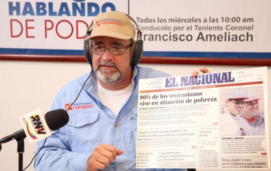 Pueblo chavista debe tener conciencia y argumentos para contrarrestar guerra psicológica