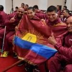 Gobernación abanderó atletas que representarán a Carabobo en justa deportiva
