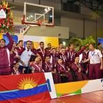 Carabobo es el sobrado campeón de los Juegos Paranacionales