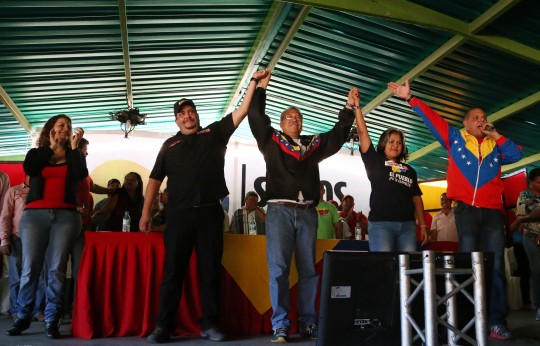 Montalbán, Bejuma y Miranda juramentaron Comandos Bolívar-Chávez para el 6D