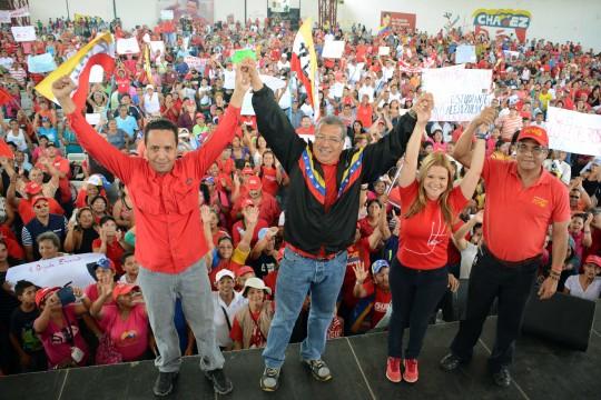 Juramentado comando Valencia Sur y Libertador para defender legado de Chávez el 6D